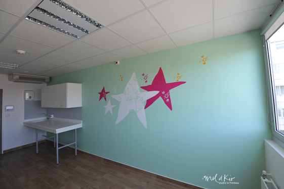 conception semi-mesure en design mural